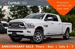 2018 Dodge RAM 3500 Laramie Longhorn 4x4 Diesel Navi Sunroof Snow Chief Group R-Start Bluetooth Backup Cam 20Alloy in Bolton, Ontario