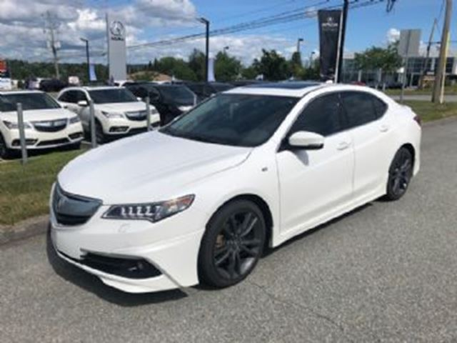 2016 ACURA TLX ELITE SH-AWD A-SPEC in Mississauga, Ontario
