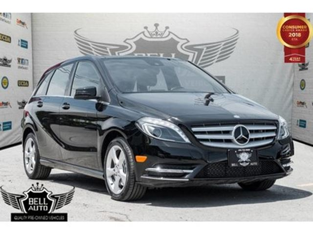 2014 MERCEDES-BENZ B-Class NAVI BACKUP CAM PANO SUNROOF LEATHER in Toronto, Ontario