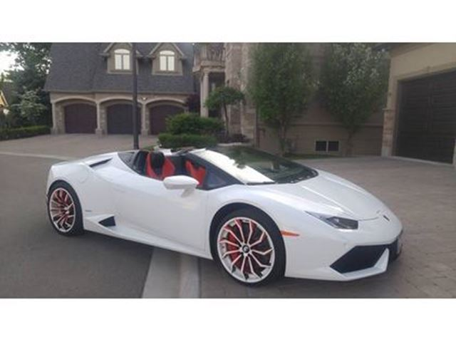 2016 LAMBORGHINI HURACAN Spyder   ONE OF A KIND!!   FULLY JAMMED in London, Ontario