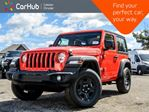 2018 Jeep Wrangler New Car Sport S Hard Top 4x4 Backup Cam Bluetooth Keyless Go Air Condition in Bolton, Ontario