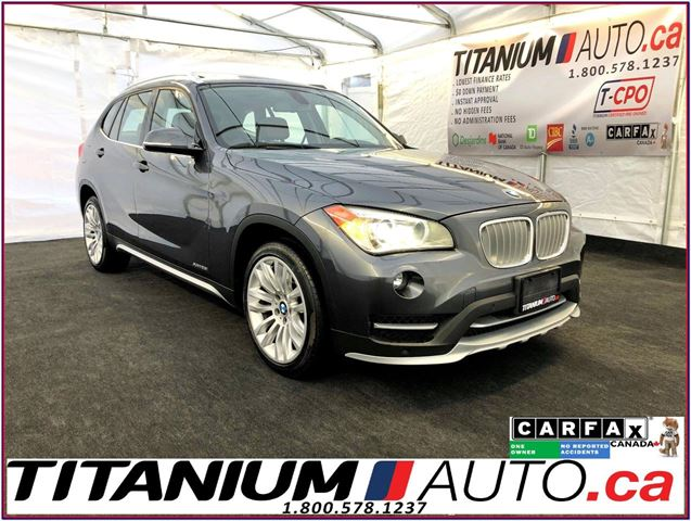 2015 BMW X1 xDrive-Camera-GPS-Pano Roof-Brown Power Leather in London, Ontario
