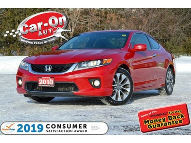 2013 HONDA Accord EX-L-NAVI LEATHER SUNROOF REAR CAM HTD SEATS in Ottawa, Ontario