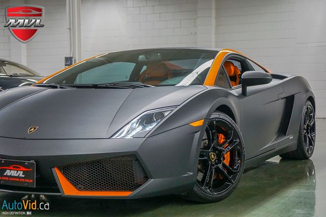2009 LAMBORGHINI GALLARDO LP560-4 AWD  accident-free  matte black wrap in Oakville, Ontario