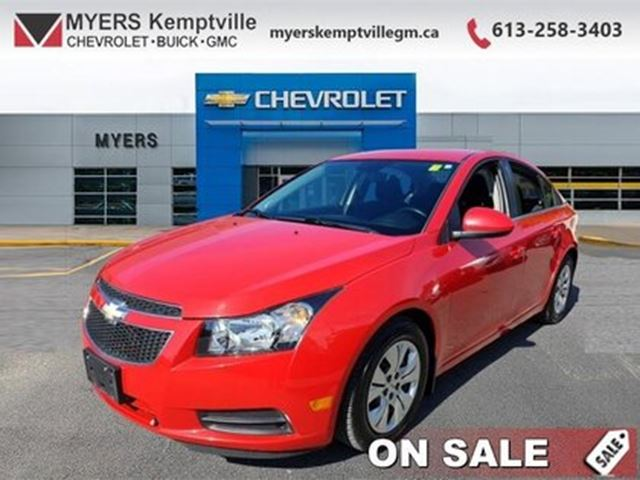 2014 CHEVROLET Cruze 0 LOW ;LOW MILEAGE  INCREDIBLE SHAPE ! THIS HAS BE in Kemptville, Ontario