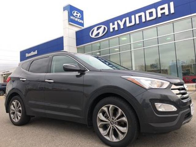 2016 HYUNDAI Santa Fe Limited   Leather   Navigation   AWD   2.0T   Pano in Brantford, Ontario
