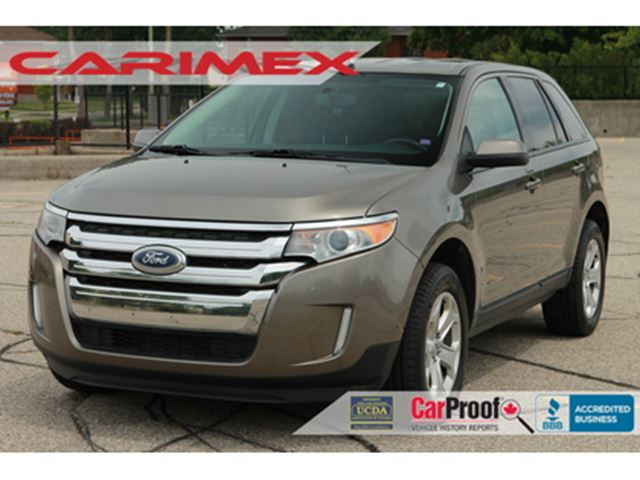 2014 Ford Edge 3 50 SEL LOW KMs AWD Bluetooth CERTIFIED - Kitchener