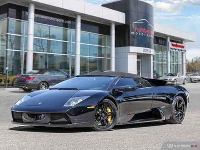 2005 LAMBORGHINI MURCIELAGO ROADSTER   AWD   LOW MILEAGE   571 hp @ 5700 rpm in Mississauga, Ontario