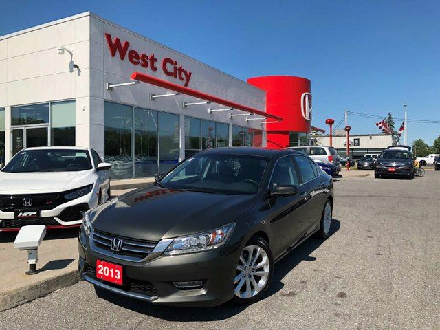 2013 HONDA Accord  TOURING,LEATHER,LOADED! in Belleville, Ontario