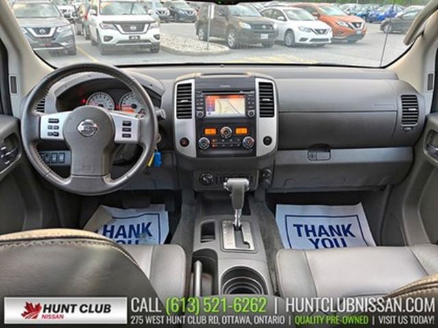 Used 2018 Nissan Frontier V 6 Cy Pro 4x Crew Cab Navigation Leather