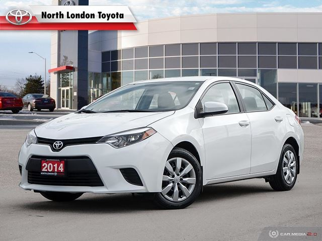 2014 TOYOTA Corolla LE No Accidents, Toyota Serviced in London, Ontario