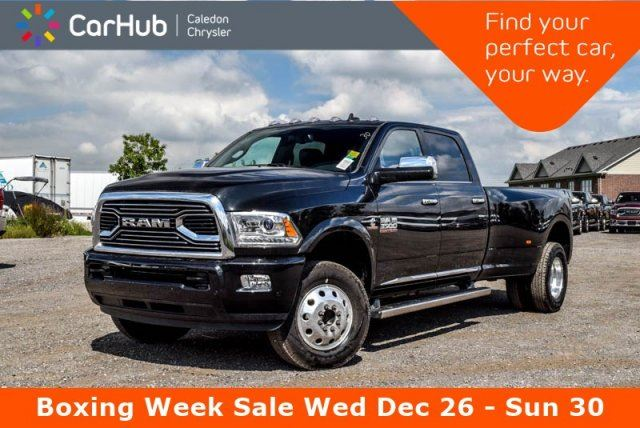 2018 DODGE RAM 3500 New Truck Limited 4x4 Navi Sunroof 5th Wheel/Gooseneck Towing Prep Group!Max Tow Package in Bolton, Ontario