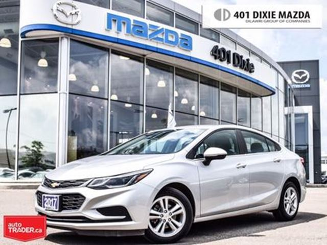2017 CHEVROLET Cruze LT Auto, NO ACCIDENTS, REAR-VIEW CAMERA, in Mississauga, Ontario