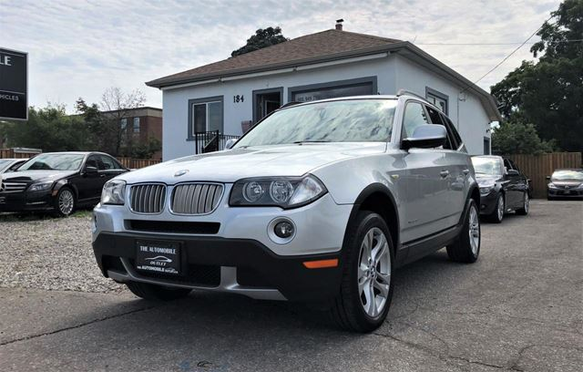 USED 2010 BMW X3 AWD 30i PANO ROOF LEATHER NO ACCIDENT
