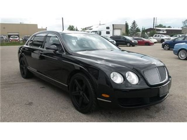 used 2007 bentley continental 6.00 silver spur - guelph | wheels.ca