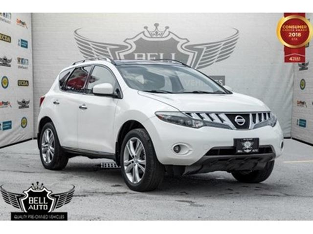 2009 NISSAN Murano LE,V6,AWD,PANO ROOF,BACK-UP CAM,LEATHER,PWR SEATS, in Toronto, Ontario