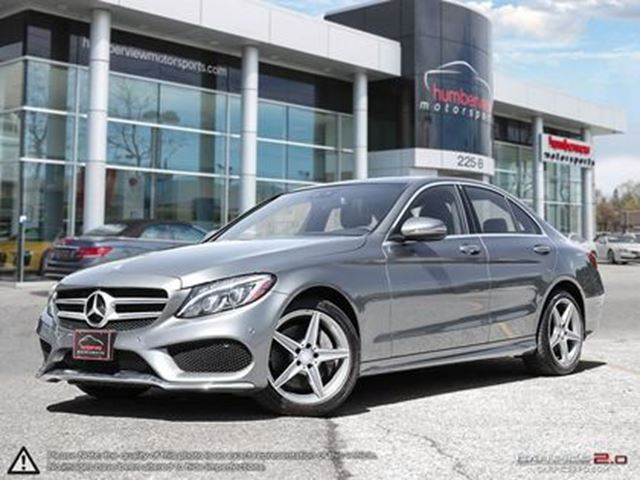 used 2017 mercedes-benz c-class i-4 cy 300 4matic - mississauga