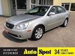 2007 Kia Magentis LX-V6/LOW, LOW KMS/PRICED-QUICK SALE ! in Kitchener, Ontario