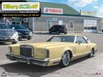 1977 Lincoln Continental MARK V 5 *Air Ride Suspension. Touch Screen. DVD* in Tilbury, Ontario