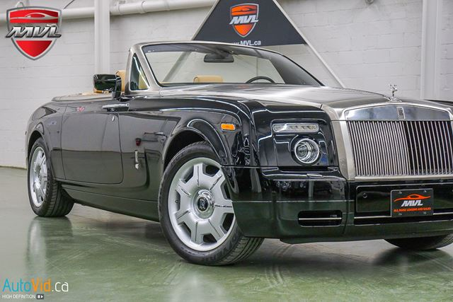2009 ROLLS-ROYCE PHANTOM DROPHEAD  6.75 V12  ULTRA LUXURY in Oakville, Ontario