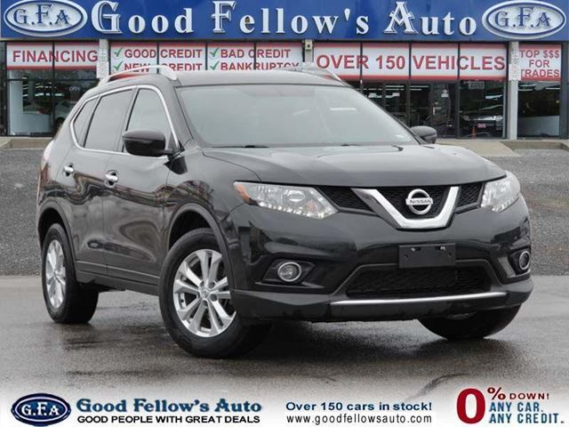 2016 Nissan Rogue SV MODEL, AWD, REARVIEW CAMERA, PANORAMA ROOF in North York, Ontario