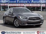 2014 Infiniti Q50 PREMIUM PACKAGE, LEATHER SEATS, SUNROOF, NAVI in North York, Ontario