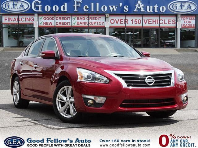 2014 Nissan Altima SL MODEL, LEATHER SEATS, SUN ROOF, REARVIEW CAMERA in North York, Ontario
