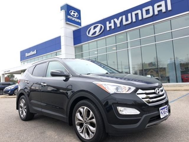 2015 HYUNDAI Santa Fe Limited   Navigation   2.0T   Leather   Panoramic in Brantford, Ontario