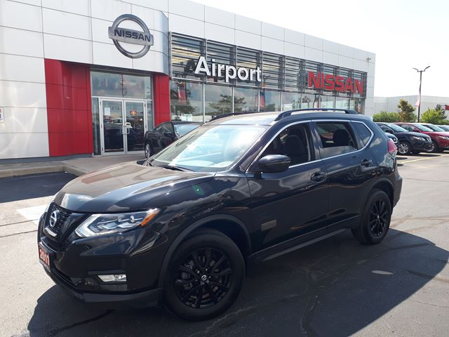 2017 NISSAN Rogue SV LOADED,ALLOY WHEELS,ROOF,POWER WINDOWS,POWER LOCKS ,PUSH BUTTON START in Brampton, Ontario