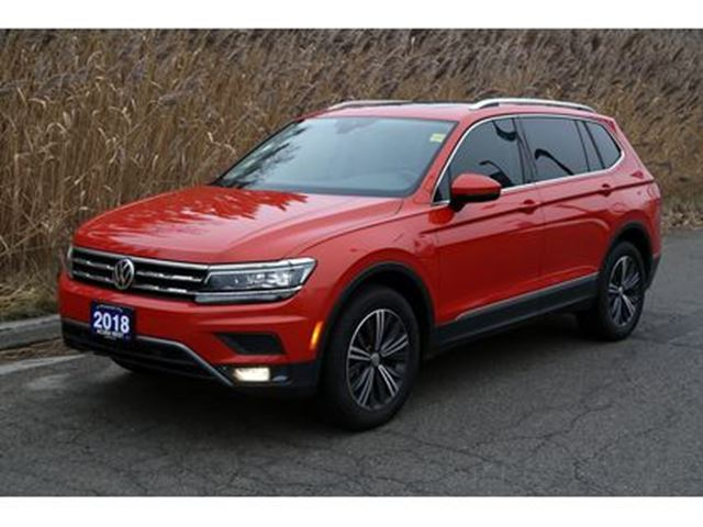 2018 VOLKSWAGEN Tiguan Highline one owner, no accidents in London, Ontario