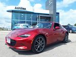 2018 Mazda MX-5 Miata  [DEMO] RF. GT 6Spd, Leather in Milton, Ontario