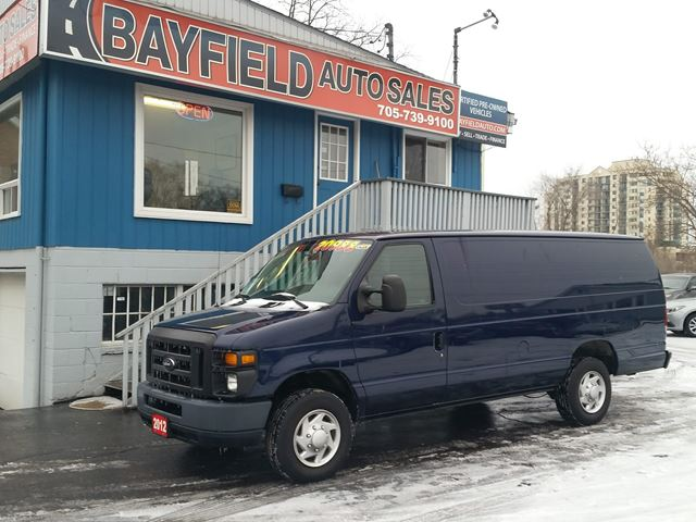 2012 Ford Econoline E-150 Extended Cargo **Air/Power Group