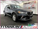 2016 Mazda CX-3 GS-GPS-Camera-Sunroof-Heated Leather-Traction Cont in London, Ontario