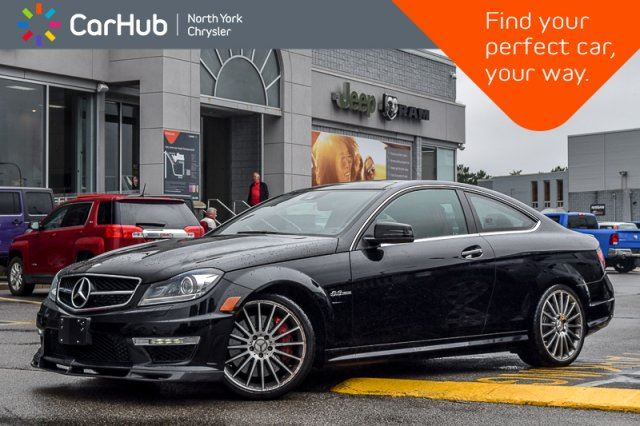 2013 MERCEDES-BENZ C-Class C 63 AMG Performance,Track AMGStyle Pkgs Nav  in Thornhill, Ontario