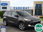 2015 Ford Escape Titanium AWD  SUNROOF  LEATHER  GPS  BLIS in Waterloo, Ontario