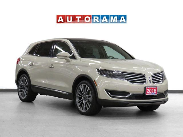 2016 LINCOLN MKX AWD Navigation Leather Pano-Sunroof Backup Cam in North York, Ontario