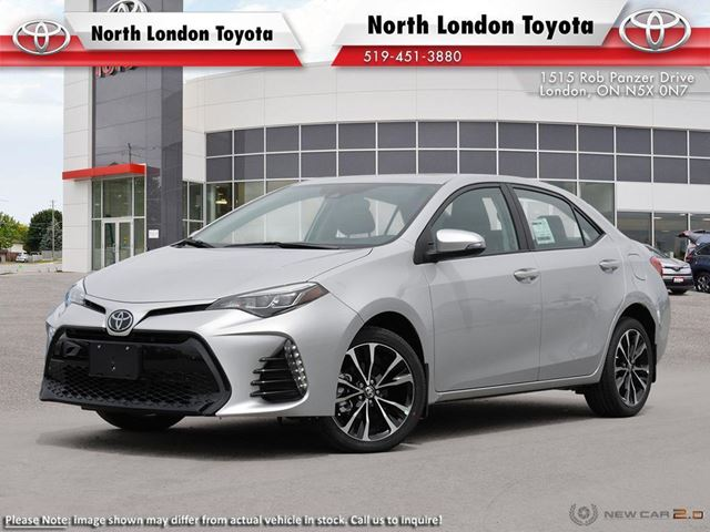 2019 TOYOTA Corolla SE Upgrade Package upgrade package - Company Demo in London, Ontario
