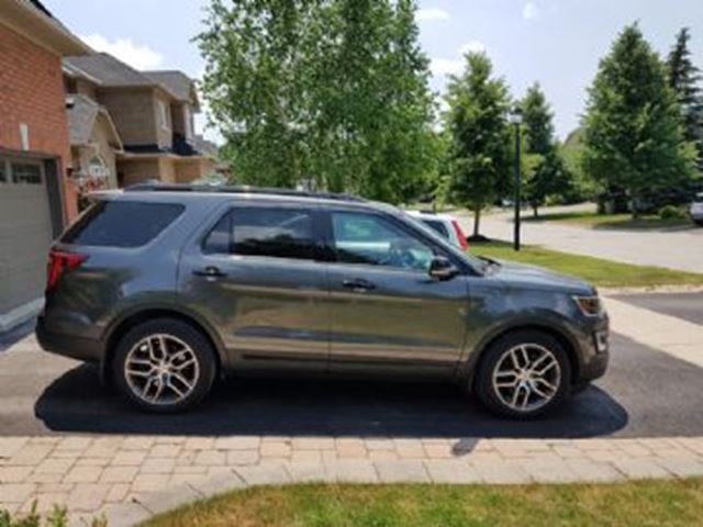 2017 Ford Explorer 4wd Sport 3 5 Eco Boost Mississauga Ontario