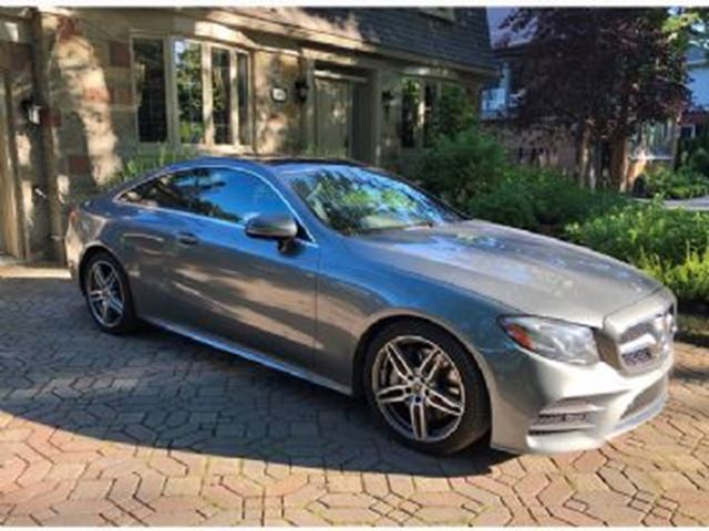 2018 MERCEDES-BENZ E-Class 400-PREMIUM,DRIVER ASSIST,TECH PACKAGES in Mississauga, Ontario