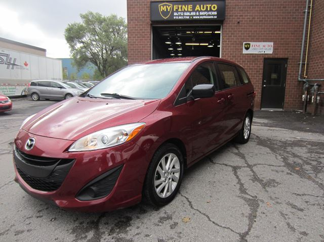 2012 MAZDA MAZDA5 GS / AUTOMATIC / LOW KMS / ONE OWNER in Ottawa, Ontario