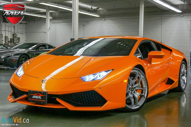 2015 LAMBORGHINI HURACAN LP610-4 NAV  MAGNETO SUSPENSION  LIFTING SYSTEM in Oakville, Ontario