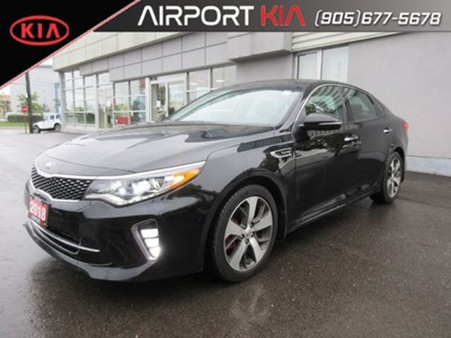 2018 KIA Optima SX Turbo DEMO/Loaded/Leather/Panoramic Sunroof in Mississauga, Ontario