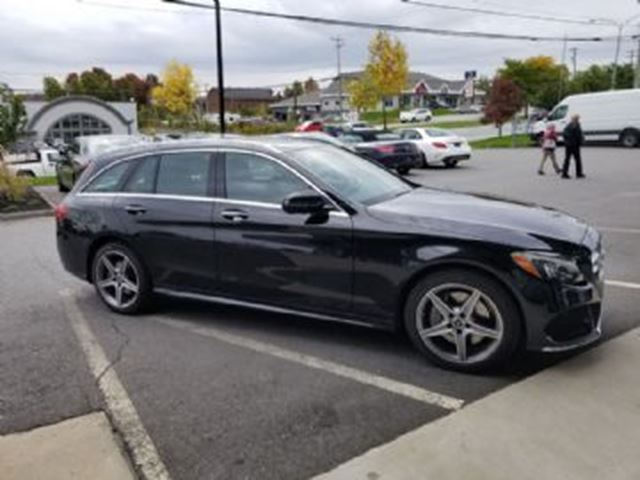 2018 MERCEDES-BENZ C-Class C300 Station 4matic in Mississauga, Ontario