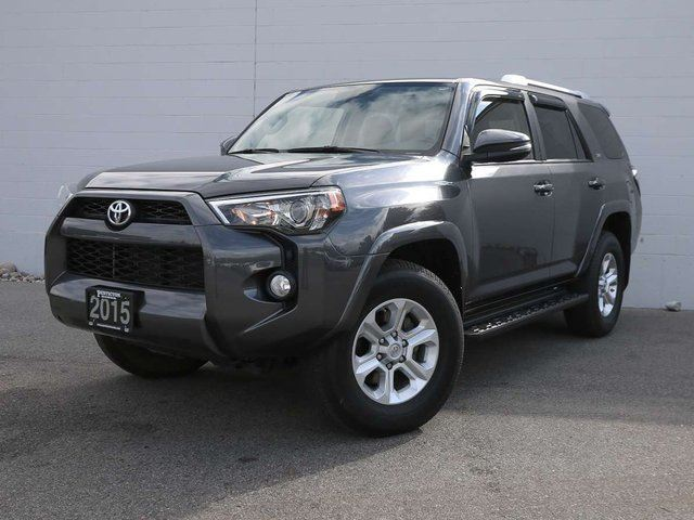2015 TOYOTA 4Runner SR5 w/ Leather 7 Passenger in Penticton, British Columbia