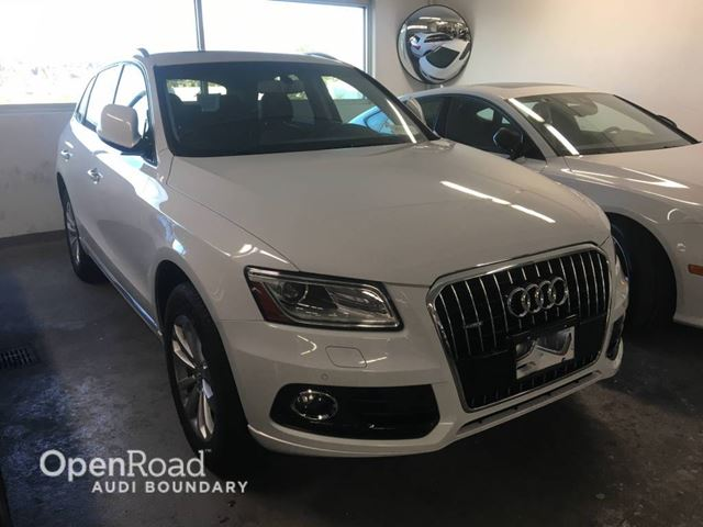 2017 AUDI Q5 quattro 4dr 3.0T Progressiv FINANCE FOR AS LOW  in Vancouver, British Columbia