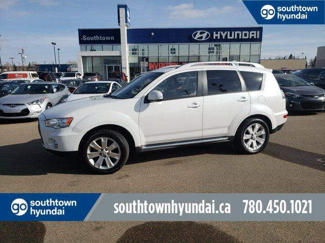 2010 MITSUBISHI Outlander GT/SUNROOF/LEATHER/HEATED SEATS in Edmonton, Alberta