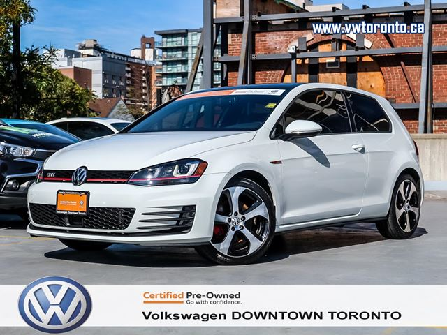 2015 VOLKSWAGEN GTI 3DR LEATHER TECHNOLOGY PACKAGE in Toronto, Ontario