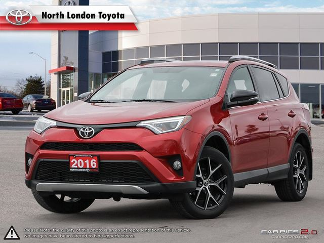 2016 TOYOTA RAV4 SE 38 cubic feet of cargo space, among the top of it's class - MotorTrend.com in London, Ontario