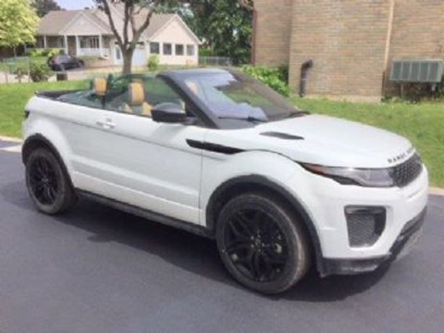 2017 LAND ROVER Range Rover Evoque New Convertible HSE DYNAMIC in Mississauga, Ontario