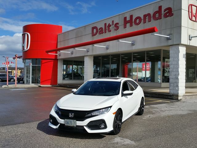 2018 HONDA Civic Sport Touring in Orillia, Ontario